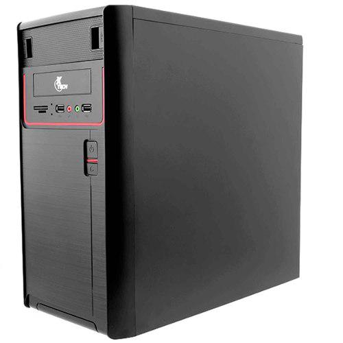 Gabinete Pc Xtech Micro Tower Fuente 600w Usb 2.0 Xtq-100