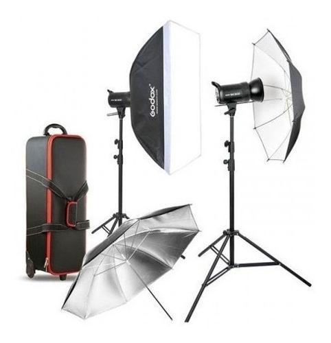 Kit De Iluminación De Estudio 400 Watts Godox Sk400ii-e