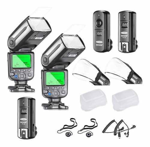 Kit Flash Neewer Nw565ex I-ttl Esclavo Speedlite Para Nikon