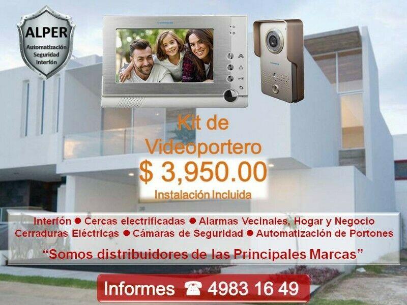Kit de Videoportero Casa u Oficina Garantizado