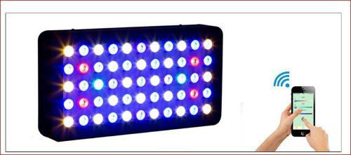Lampara Led Acuario Marino Wifi 165 Watts Full Espectrum