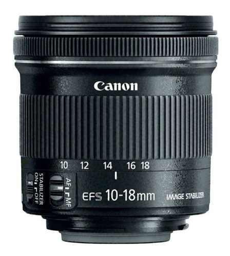 Lente Canon Efs 10-18 Mm F/4.5-5.6 Is Stm Nuevo Sellado