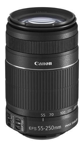 Lente Canon Efs 55-250 Mm F/4-5.6 Is Ii Nuevo Sellado