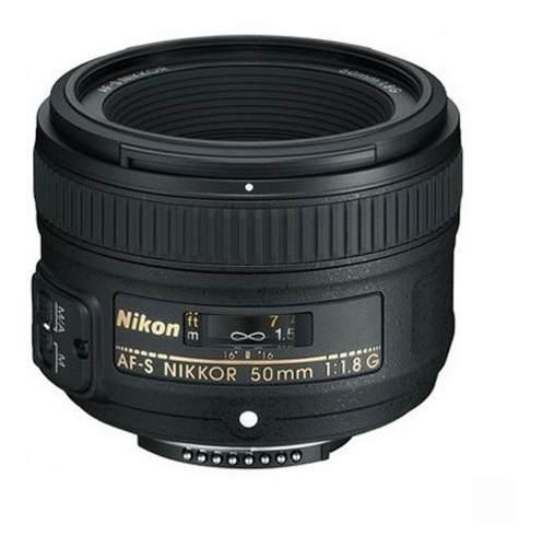 Lente Nikon Af-s 50mm F/1.8 G