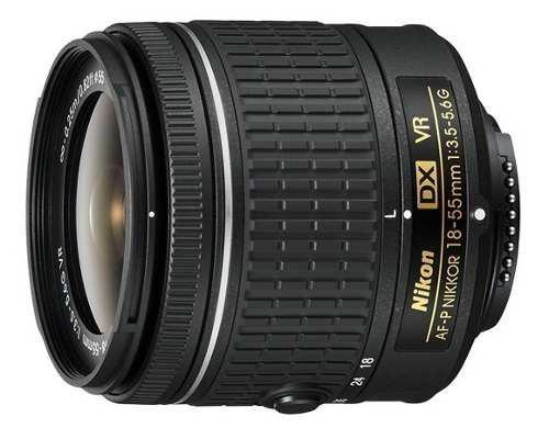 Lente Profesional Nikon 18-55mm Af-p F/3.5-5.6g Vr E.gratis