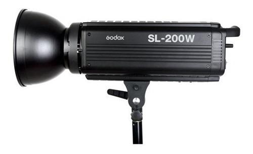 Lámpara Led De Luz Continua Sl-200w