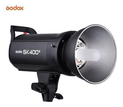 Luz Estroboscópica Godox Sk400ii Para Estudio
