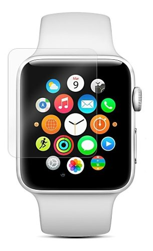 Mica Cristal Templado Apple Watch 42 Mm Series 1 2 3 Envio