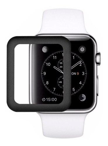 Mica Curva Apple Watch 38mm 40mm 42mm 44mm Todas Las Series