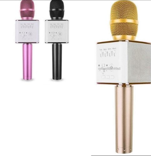 Microfono Bluetooth Inalambrico Karaoke Con Bocina Usb