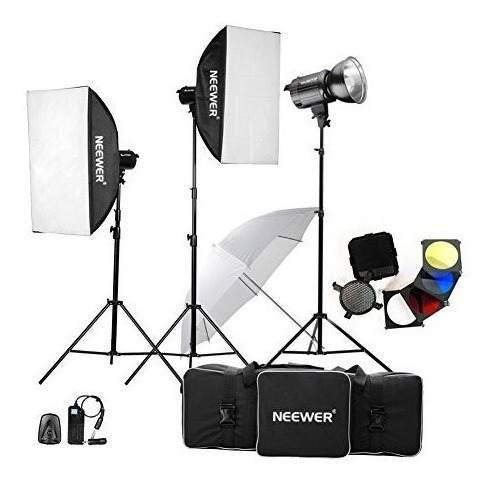 Neewer 900w (300w X 3) Kit De Iluminación Fotografía