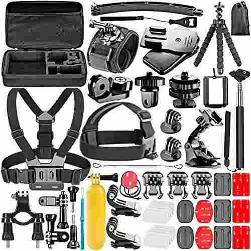 Neewer - Kit De Accesorios 53-in-1 Para Cámara Gopro Hero 1