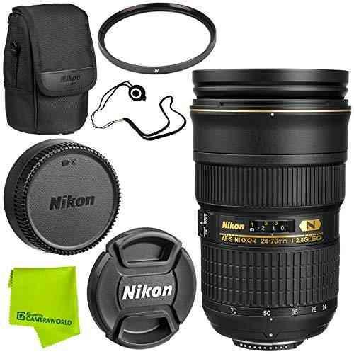 Nikon Af- S Nikkor 24-70 Mm F 2,8 G Ed Lente Avanzado Liar