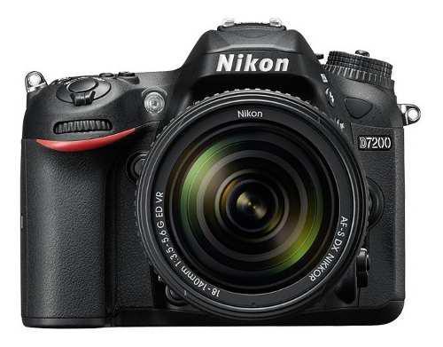 Nikon D7200con 18-140mm F/3.5-5.6g Ed Vr Nuevas Y Selladas