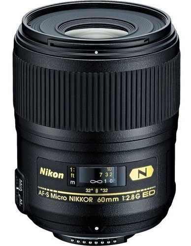 Nikon Lente Af-s Micro Nikkor 60mm F/2.8g Ed