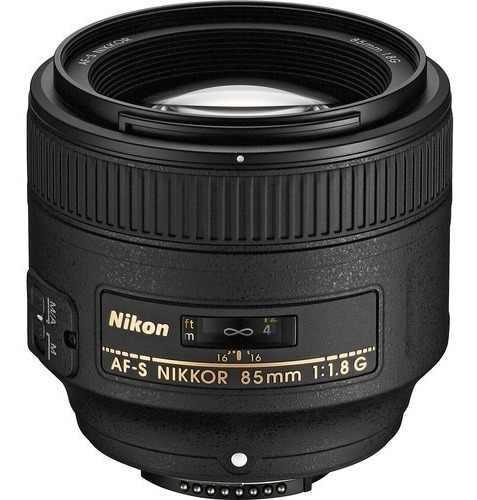 Nikon Lente Af-s Nikkor 85mm F/1.8g Mas Filtro 67mm