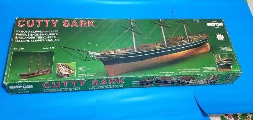 Sergal 1/78 Cutty Sark Cliper Y Set De Velas