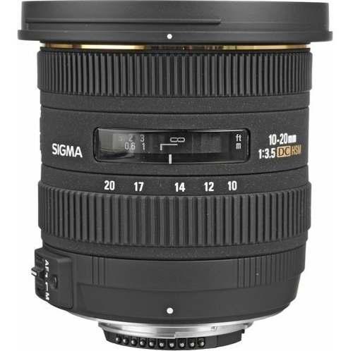 Sigma Lente 10-20mm F/3.5 Ex Dc Hsm Sigma P/ Nikon