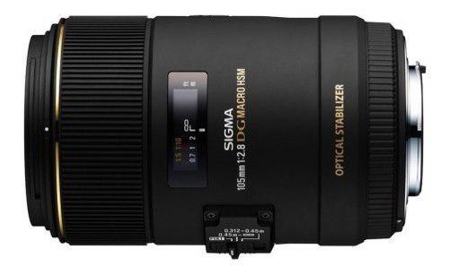 Sigma Lente 105mm F/2.8 Ex Dg Hsm Os Macro P/canon