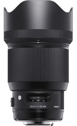 Sigma Lente 85mm F1.4 Dg Hsm Art P/nikon