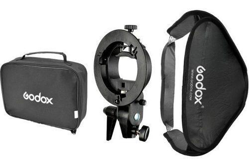 Softbox Handy 80 X 80 Cm Con Bracket S-type Godox