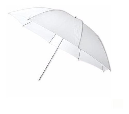 Sombrilla Blanca Translucida 84cm Godox Para Fotografía
