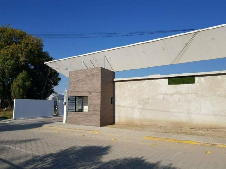 Terreno en venta en San Pedro Cholula La Carcaña