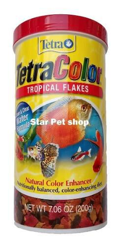 Tetracolor Tropical Flakes 200 Gr Aleman En Oferta
