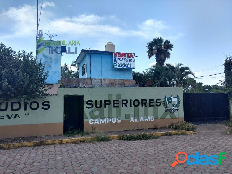 Venta Casa 2 recamaras Col. Educación Álamo Temapache