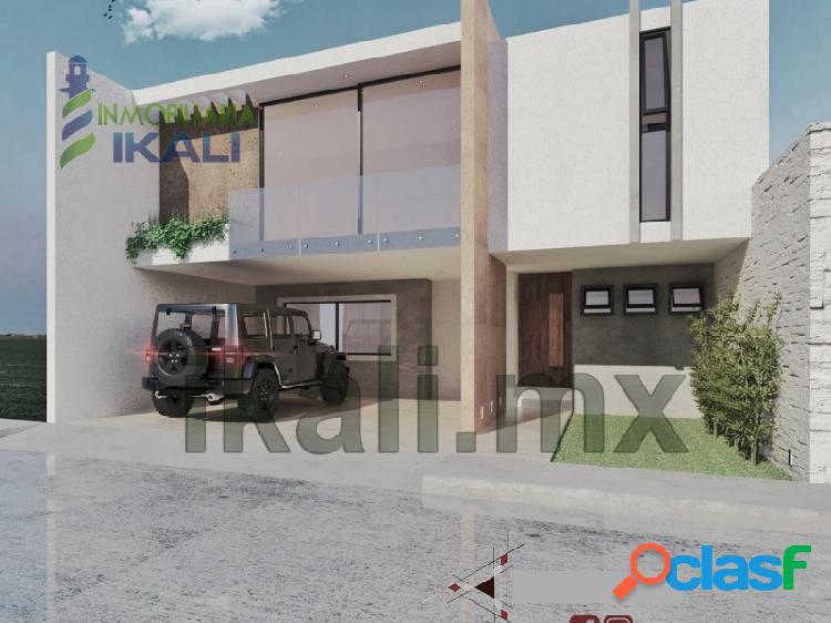 Venta Casa nueva 3 recamaras Lomas de Fovissste Tuxpan