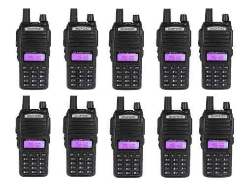 10 Radio Baofeng Uv 82 Doble Banda Vhf/ Uhf / Fm/ Escaner