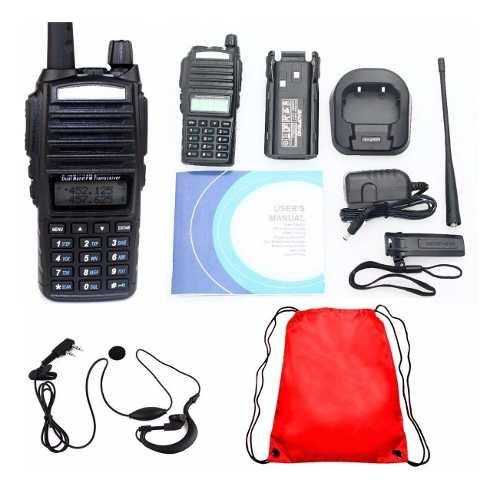 4 Radio Baofeng Uv 82 Doble Banda Vhf/ Uhf / Fm/ Escaner