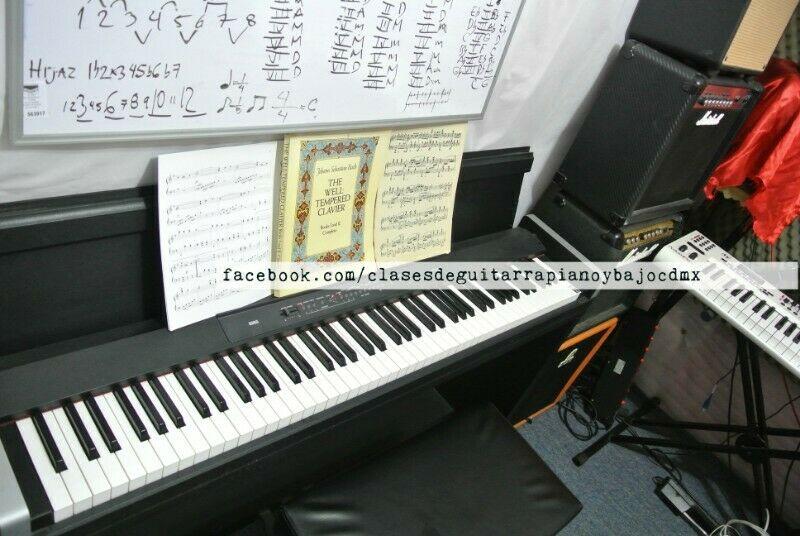 Clases de Piano Clasico y Teclado Particulares CDMX Colonia