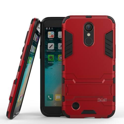 For Lg K10 2017 / M250n / X400 - Red - Para Lg K20 V K2-4645