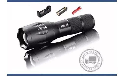 Lampara Tactica 3000 Lumens Cree Led T6 Recargable 8800mah