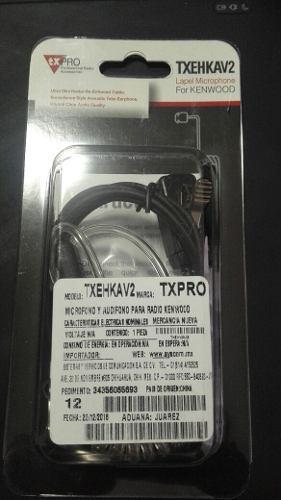 Micrófono Audífono Para Radio Kenwood