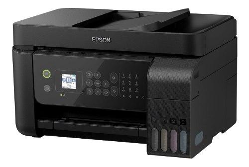 Multifuncional Epson L Tinta Continua Adf Oficio Wi-fi