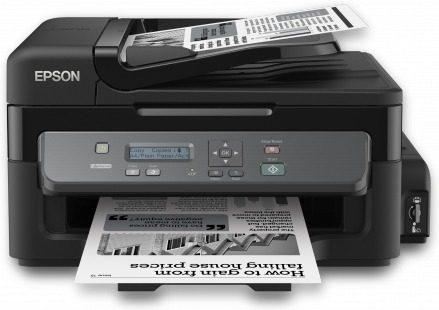 Multifuncional Tinta Continua Epson Workforce M200 Negro Red