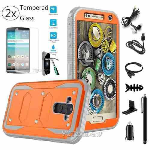 Orange [accessories] - Para Lg G Stylo Ms631 H631 Ls770-5924
