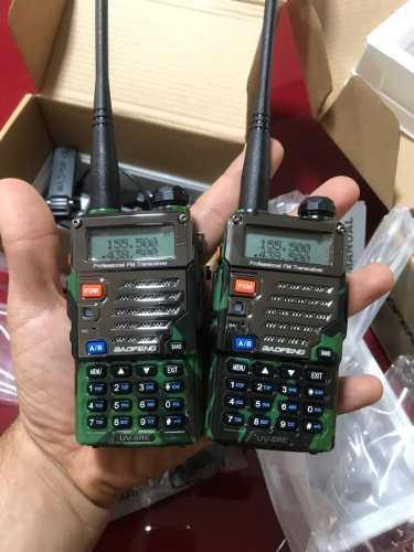 Set De 2 Radios Portátil Baofeng Uv-5r Militar Vhf/uhf