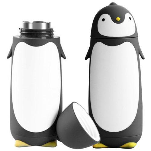 Termo Taza En Forma De Pinguino Negro H1293
