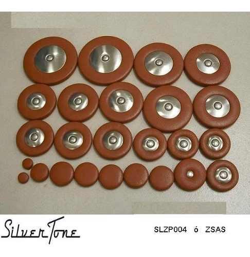 Zapatillas Sax Alto Silvertone Slzp004 Envio Inmediato +