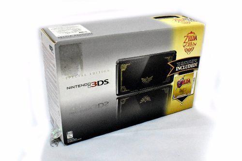 3ds Ed. Especial Zelda Ocarina Of Time 4gb Colección Semi