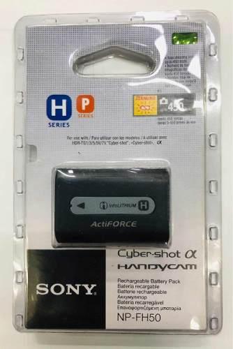 Batería Para Videocámara Sony Handycam Np-fh50 Original
