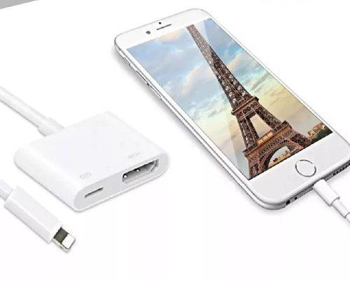 Cable Lightning Digital Av iPhone 5 6 7 8 X iPad Xr Hdmi