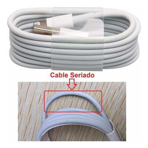 Cable iPhone Lightning 1 Metro Original 5 6 7 8 X / A Granel