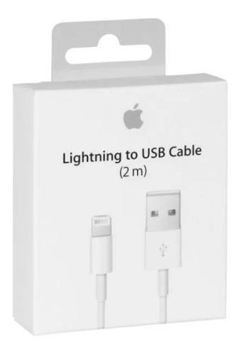 Cable iPhone Lightning 100% Original 2 Metros 5 6 7 8 X