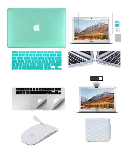 Carcasa + 5 Accesorios + Antispy Macbook Air 13 A1369 A1466