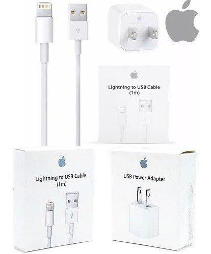Cargador Original Apple Con Lightning Cable iPhone 5 6 7 8 X