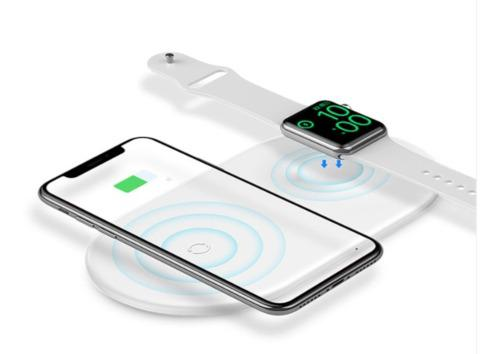 Cargador Rapido Inalámbrico Universal Y Apple Watch 1 2 3 4